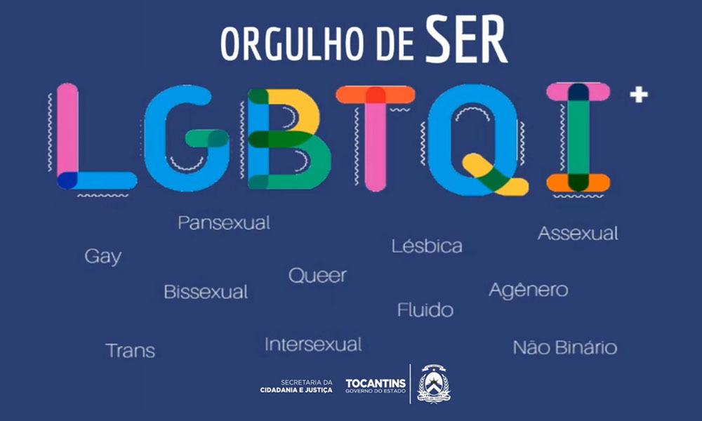 Seciju explica o que significa cada letra da sigla LGBTQI+ e alguns outros  termos usados na luta por respeito e diversidade - Notícias - Portal  Tocantins