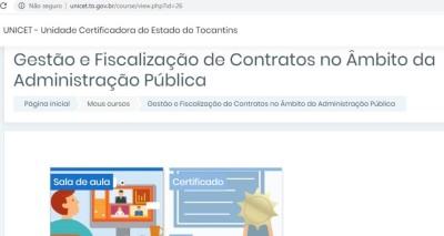 A capacitação será em ambiente virtual, com certificação imediata pela Unicet