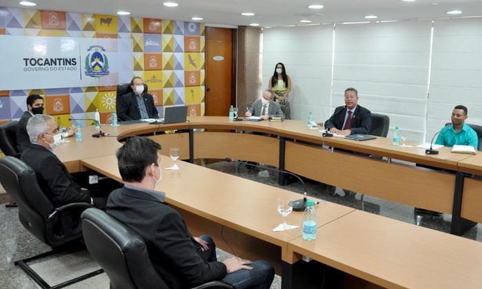 Objetivo da reunião foi discutir o processo de regularização das quadras ASRNE 55 e ASRSE 55