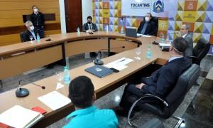 Na ocasião o  governador Mauro Carlesse destacou que o empresário precisa de garantias e nesse contexto é importante ter o estado a seu favor