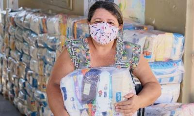 Os kits de alimentos beneficiaram 16 mil famílias do município de Araguaína