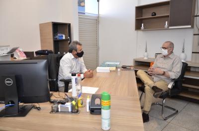 Secretário discute medidas de prevenção contra coronavírus com Vice-Presidente