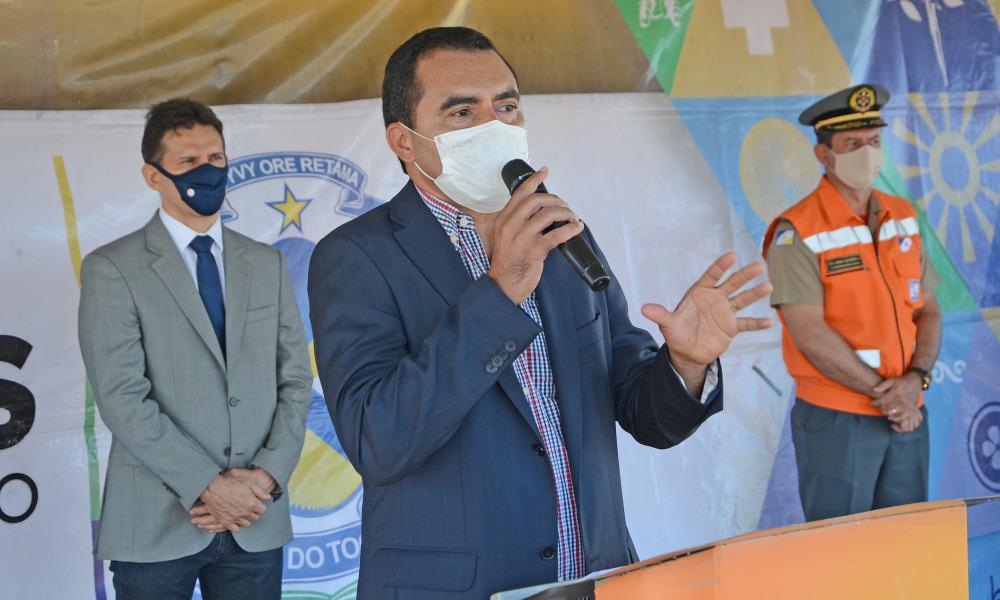 O vice-govenador Wanderlei Barbosa, pede cuidados à saúde da população durante a pandemia da Covid -19