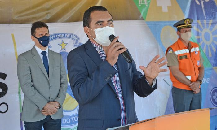 Vice-governador Wanderlei Barbosa pede cuidados à saúde da população durante período de pandemia