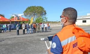 Estrutura de ação terá apoio de vários drones para execução das atividades