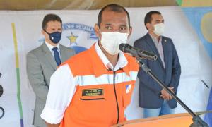 Tenente-coronel Erisvaldo Alves, coordenador-adjunto da Defesa Civil Estadual