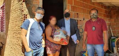 E.P.R. mora na região Sul de Palmas com seus cinco filhos e atualmente está desempregada