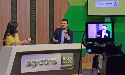 Secretário de Agricultura, Thiago Dourado, destacou que a feira superou as expectativas quanto à difusão de conhecimento