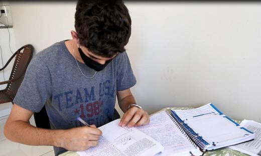 Samir Vieira já planejou a volta das atividades escolares