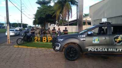 GIRO em apoio ao 2º BPM em Araguaína