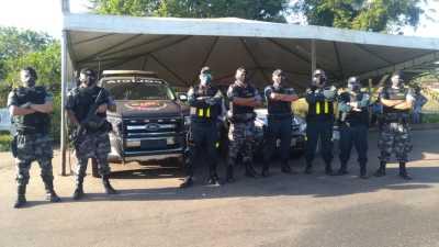GIRO em apoio ao 2º BPM em Xambioá