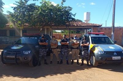 ROTAM em apoio ao 8º BPM em Araguacema