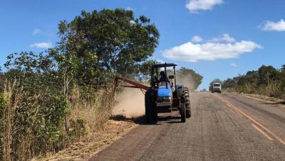 Cronograma de manutenção rodoviária segue em todo o Estado.