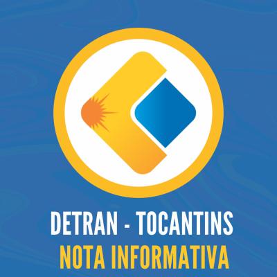 Nota Informativa Detran-TO
