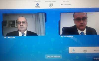 Secretário Cristiano Sampaio participa de webinar sobre Segurança Pública