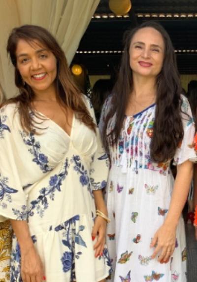 Ivonete Lopes e Elithiana Bezerra, da Subprocuradoria Administrativa