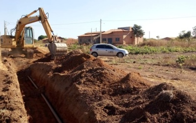 Obras no município beneficiarão diretamente centenas de consumidores