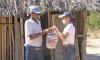 Nesta sexta etapa dos trabalhos, a equipe, composta por 15 servidores distribuídos em 12 veículos, começaram a entrega na sexta-feira, 3, e seguem até finalizar o atendimento a todas as famílias rurais que estão em situação de vulnerabilidade - Ruraltins/Governo do Tocantins