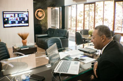 Por videoconferência, presidente do CDE-TO, secretário da Indústria, Comércio e Serviços (SICS), Tom Lyra, conduz 93ª Reunião Ordinária