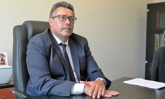 Sebastião Albuquerque, presidente do Naturatins