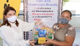 Titular da Seduc, Adriana Aguiar, destacou a preocupação do Governo do Tocantins com todos os estudantes