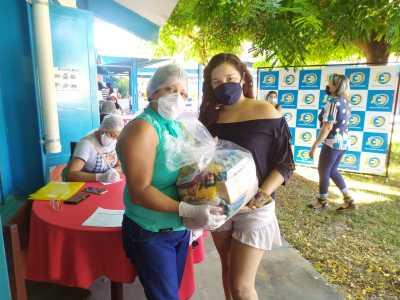 Tocantinópolis é um dos municípios em que os kits de alimentos estão sendo entregues esta semana