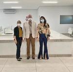 Edgar Tollini vistoriou leitos de UTI Covid em Augustinópolis
