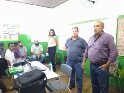 OFICINA  NO MUNICIPIO DE CHAPADA NATIVIDADE