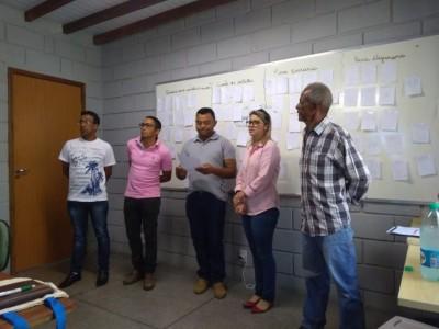 CAPACITAÇÃO RECUPERAÇÃO DE A´REAS DEGRADADAS E MATAS CILIARES
