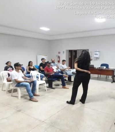OFICINA AMBIENTAL LAGOA DA CONFUSÃO