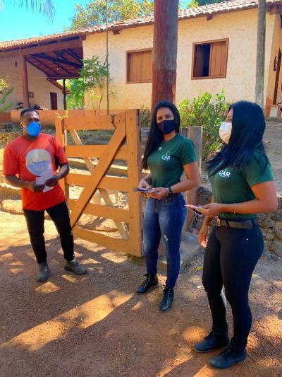 O projeto Foco no Fogo irá visitar 300 propriedades rurais que mais queimaram nos últimos três anos