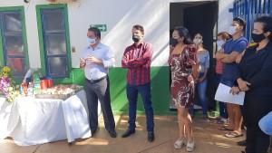 A solenidade contou com a presença do vice-presidente do Ruraltins, José Aníbal Lamattina, e do presidente do Sisepe, Cleiton Pinheiro, que juntos colocaram-se à disposição para o fortalecimento da associação