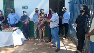 A chapa eleita Renovação e Participação será presidida pela servidora e engenheira Agrônoma do órgão rural, Geane de Souza Rodrigues, tendo ao lado, como vice-presidente, o servidor Gilberto Chaves da Rocha