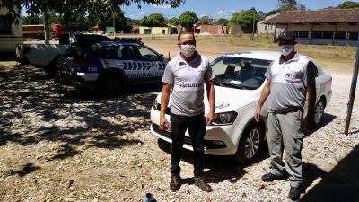 Veículo clandestino apreendido entre os municípios de Araguanã e Xambioá