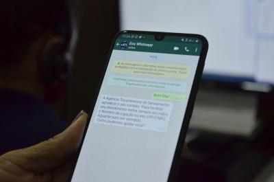 Muitos clientes preferem entrar em contato através do WhatsApp (63) 99202 6005