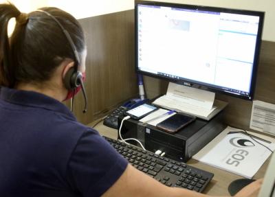 A través do Chat os clientes podem resolver qualquer demanda relacionada aos serviços prestados pela Agência