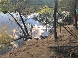 Trecho do Rio Formoso, onde o rapaz se afogou na última quarta-feira, 22, ao descer com uma boia