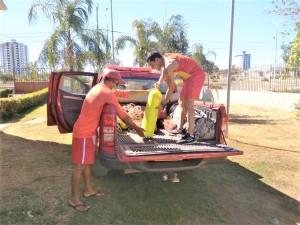 Bombeiros Militares se preparam para ação de buscas no Rio Formoso