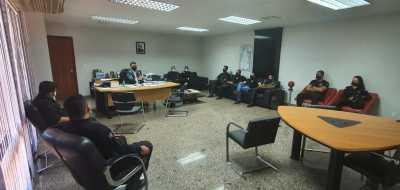 Entre as pautas tratadas durante a reunião estava o andamento da instituição da PEC para criação da Polícia Penal no Tocantins