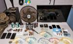 Objetos apreendidos pela PM na operação Hórus Divisa em Marianópolis