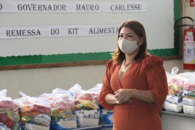 De acordo com Adriana Aguiar, o principal objetivo da ação é garantir a segurança alimentar dos estudantes