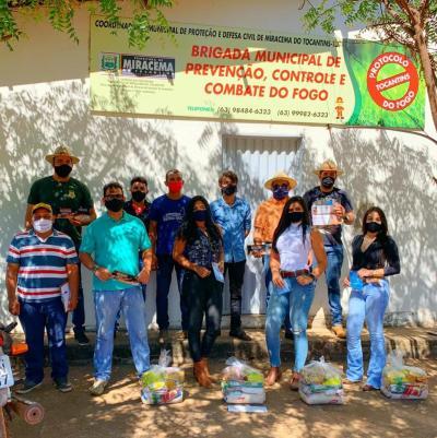 Equipe do projeto Foco no Fogo estão seguindo todas as recomendações de segurança para não propagar o novo Coronavírus