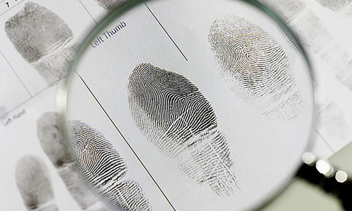 A identificação foi realizada pelos papiloscopistas lotados no Núcleo Especializado de Identificação Necropapiloscópica pelo exame papiloscópico