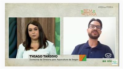 Entrevista concedida ao canal Terra Viva