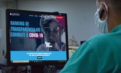 Pesquisa avalia a adequação e a transparência das informações relativas às contratações emergenciais no período da pandemia