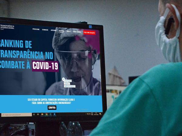 Governo do Tocantins alcança conceito ótimo na terceira rodada do ranking de transparência Covid-19