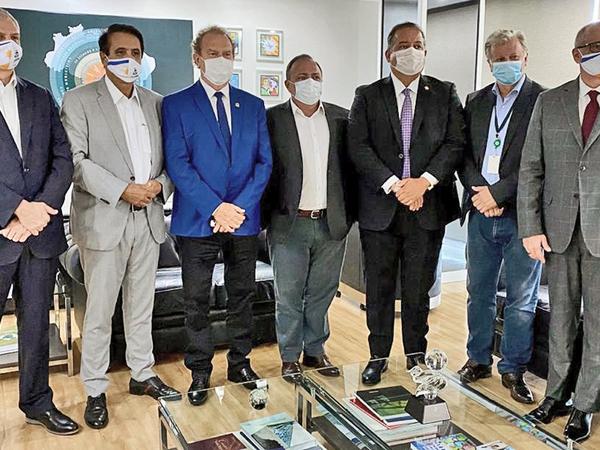 Governador Carlesse solicitou ao Ministro Interino da Saúde recursos para hospitais gerais de Gurupi e Araguaína