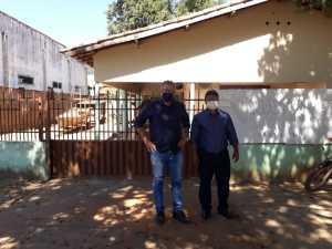 Nesta sexta-feira, 31, Sebastião Albuquerque e Ivaci Rodrigues visitaram o escritório regional de Lagoa da Confusão