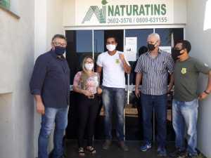 Gestores do Naturatins visitaram nesta sexta-feira, 31, o escritório regional de Paraíso do Tocantins