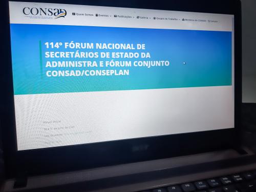 O Fórum foi realizado de modo virtual e reuniu representantes de vários Estados e pesquisadores